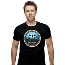 Load image into Gallery viewer, Shirts Fitted Shirts, Mens / Small / Black Legendary Journey