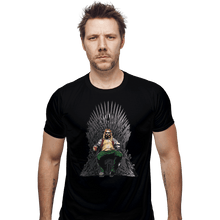 Load image into Gallery viewer, Shirts Fitted Shirts, Mens / Small / Black God Of Thrones
