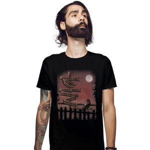Shirts Fitted Shirts, Mens / Small / Black Horror Crossroads
