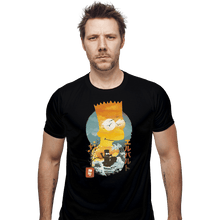 Load image into Gallery viewer, Shirts Fitted Shirts, Mens / Small / Black Bart Ukiyoe