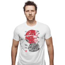 Load image into Gallery viewer, Shirts Fitted Shirts, Mens / Small / White Battle Of Endor