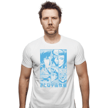 Load image into Gallery viewer, Shirts Fitted Shirts, Mens / Small / White Bebop