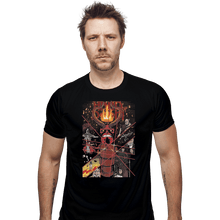 Load image into Gallery viewer, Shirts Fitted Shirts, Mens / Small / Black Hand Of Doom