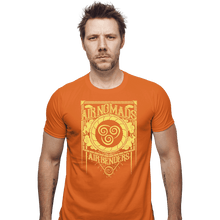 Load image into Gallery viewer, Shirts Fitted Shirts, Mens / Small / Orange Air Nomads