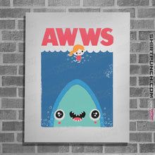 "Load image into Gallery viewer, Shirts Posters / 4""x6"" / White AWWS"