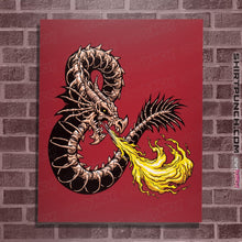 "Load image into Gallery viewer, Secret_Shirts Posters / 4""x6"" / Red Bone Dragon Secret Sale"