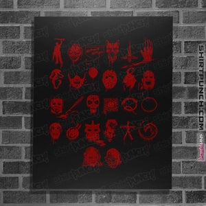"Shirts Posters / 4""x6"" / Black ABCs Of Horror"