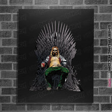 "Load image into Gallery viewer, Shirts Posters / 4""x6"" / Black God Of Thrones"