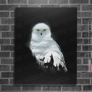 "Shirts Posters / 4""x6"" / Black Magical Owl"