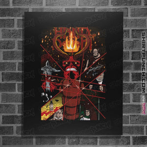 "Shirts Posters / 4""x6"" / Black Hand Of Doom"