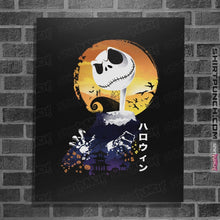 "Load image into Gallery viewer, Shirts Posters / 4""x6"" / Black Ukiyo E Jack"