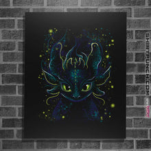 "Load image into Gallery viewer, Shirts Posters / 4""x6"" / Black Fireflies"