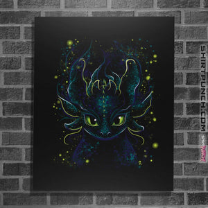 "Shirts Posters / 4""x6"" / Black Fireflies"