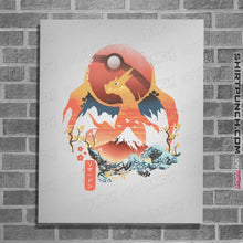 "Load image into Gallery viewer, Shirts Posters / 4""x6"" / White Fire Ninja"