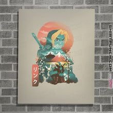 "Load image into Gallery viewer, Shirts Posters / 4""x6"" / Natural Ukiyo Ocarina"