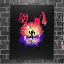 "Load image into Gallery viewer, Shirts Posters / 4""x6"" / Black Dance Of The Summoner"