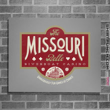 "Load image into Gallery viewer, Shirts Posters / 4""x6"" / Sports Grey The Missouri Belle"
