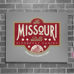 "Shirts Posters / 4""x6"" / Sports Grey The Missouri Belle"