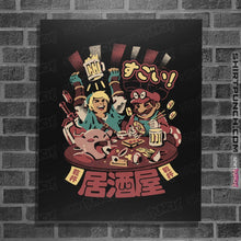 "Load image into Gallery viewer, Shirts Posters / 4""x6"" / Black Heroes Izakaya"