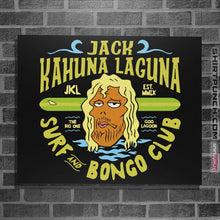 "Load image into Gallery viewer, Shirts Posters / 4""x6"" / Black Jack Kahuna Laguna"
