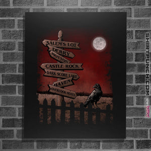 "Shirts Posters / 4""x6"" / Black Horror Crossroads"