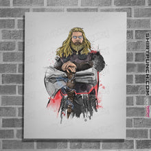 Load image into Gallery viewer, God Of Thunder Watercolor