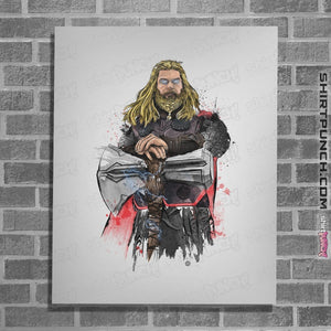 God Of Thunder Watercolor