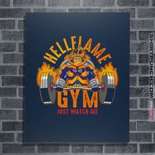 "Load image into Gallery viewer, Shirts Posters / 4""x6"" / Navy Endeavor Gym"