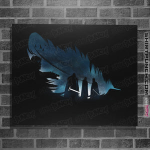 "Shirts Posters / 4""x6"" / Black Lyanna's Feather"