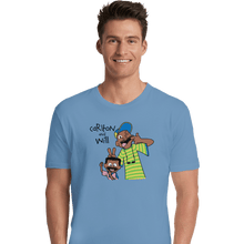 Load image into Gallery viewer, Shirts Premium Shirts, Unisex / Small / Powder Blue Carlton And Will