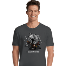 Load image into Gallery viewer, Shirts Premium Shirts, Unisex / Small / Charcoal Hello Mando