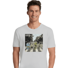 Load image into Gallery viewer, Shirts Premium Shirts, Unisex / Small / White Flabby Road