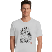 Load image into Gallery viewer, Shirts Premium Shirts, Unisex / Small / White Super Saiyan Warrior