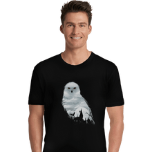 Load image into Gallery viewer, Shirts Premium Shirts, Unisex / Small / Black Magical Owl