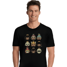 Load image into Gallery viewer, Shirts Premium Shirts, Unisex / Small / Black Evil Waifus