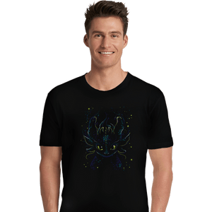 Shirts Premium Shirts, Unisex / Small / Black Fireflies