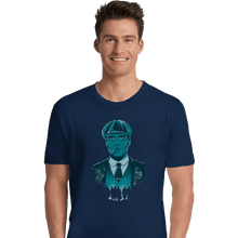 Load image into Gallery viewer, Shirts Premium Shirts, Unisex / Small / Navy The Leader