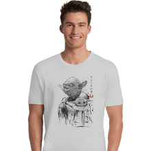 Load image into Gallery viewer, Shirts Premium Shirts, Unisex / Small / White Old And Young Sumi-e