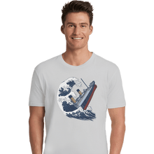 Load image into Gallery viewer, Shirts Premium Shirts, Unisex / Small / White The Wave Titanic