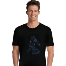Load image into Gallery viewer, Shirts Premium Shirts, Unisex / Small / Black Hollywoo Starry Night