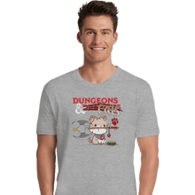 Load image into Gallery viewer, Shirts Premium Shirts, Unisex / Small / Sports Grey Dungeons And Cats