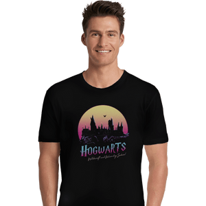 Shirts Premium Shirts, Unisex / Small / Black Old School Of Magic