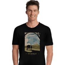 Load image into Gallery viewer, Shirts Premium Shirts, Unisex / Small / Black Epona Visit Hyrule