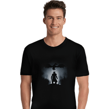Load image into Gallery viewer, Shirts Premium Shirts, Unisex / Small / Black Skyrim Dragon Hunting