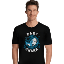 Load image into Gallery viewer, Shirts Premium Shirts, Unisex / Small / Black Cute Baby Shark