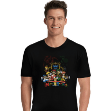 Load image into Gallery viewer, Shirts Premium Shirts, Unisex / Small / Black Mushroom Rangers