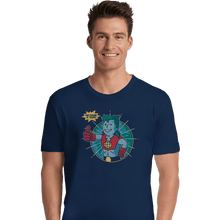 Load image into Gallery viewer, Shirts Premium Shirts, Unisex / Small / Navy Planet Boy