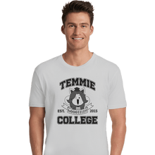 Load image into Gallery viewer, Shirts Premium Shirts, Unisex / Small / White Temmie College