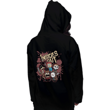 Load image into Gallery viewer, Shirts Pullover Hoodies, Unisex / Small / Black Insides Out