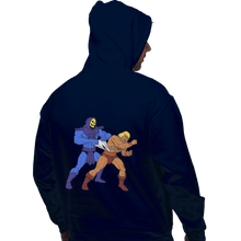 Load image into Gallery viewer, Shirts Zippered Hoodies, Unisex / Small / Navy Atomic Wedgie